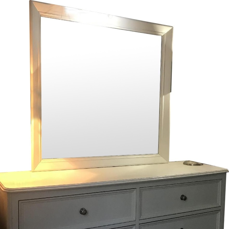 White Wood Dresser - image-8
