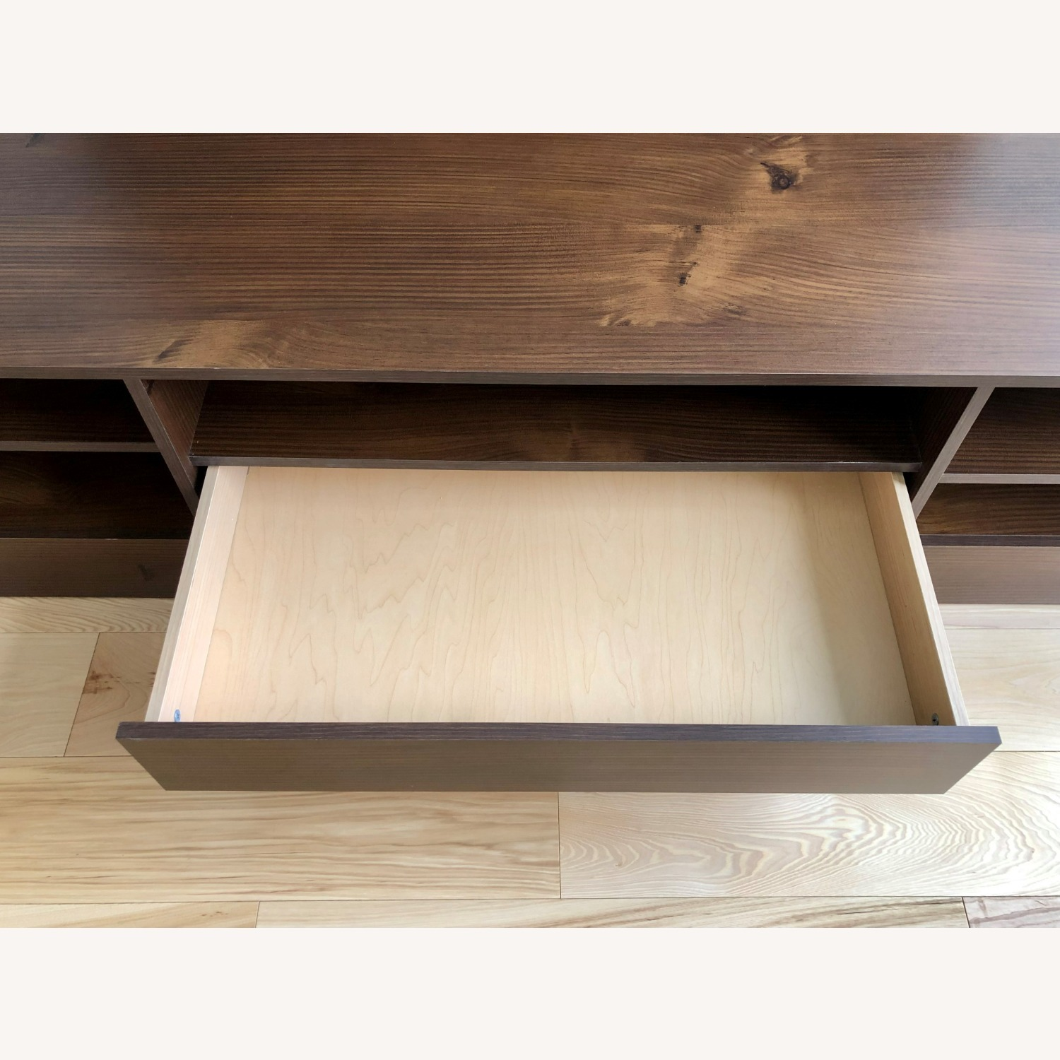 Wood Media Console TV Stand - image-4