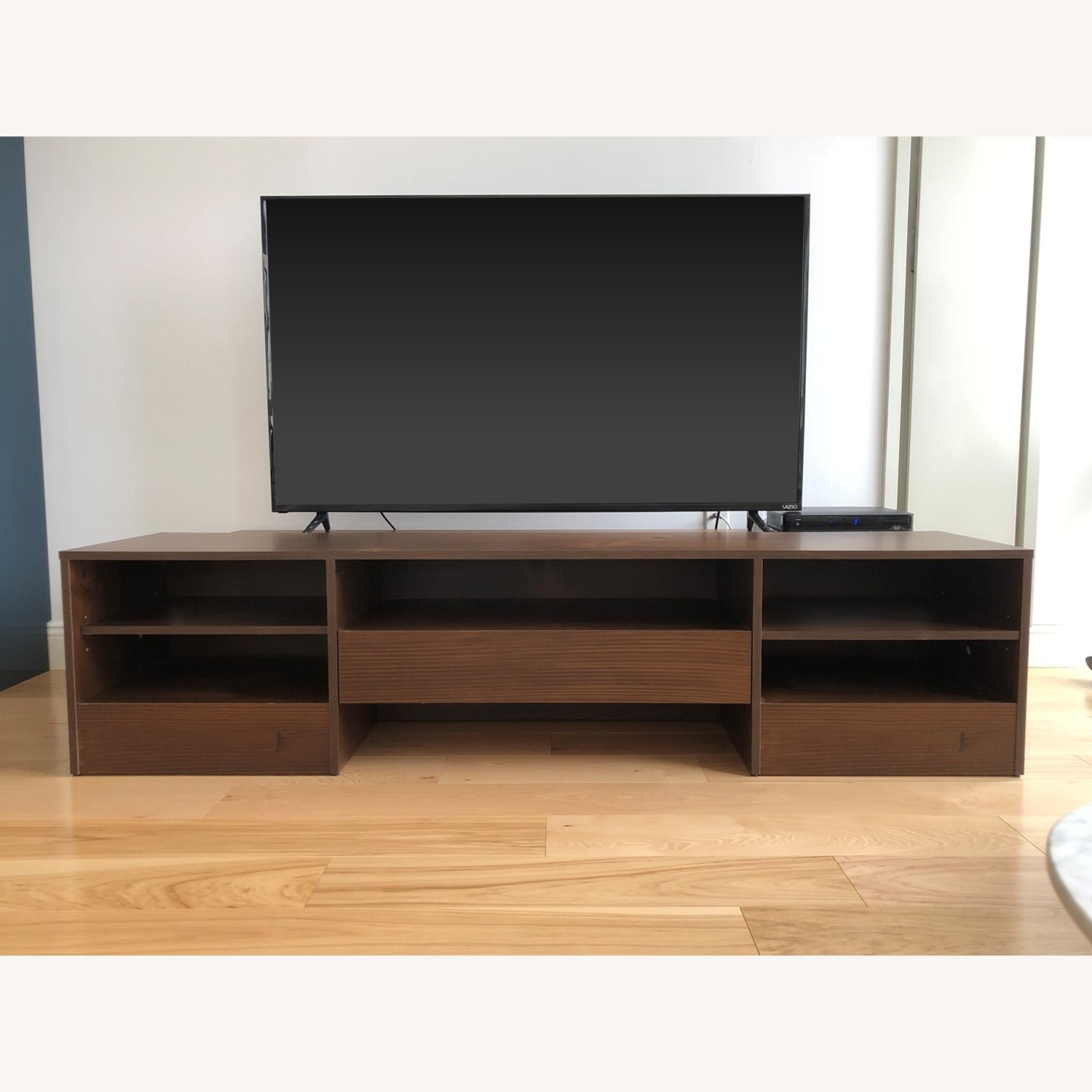 Wood Media Console TV Stand - image-3