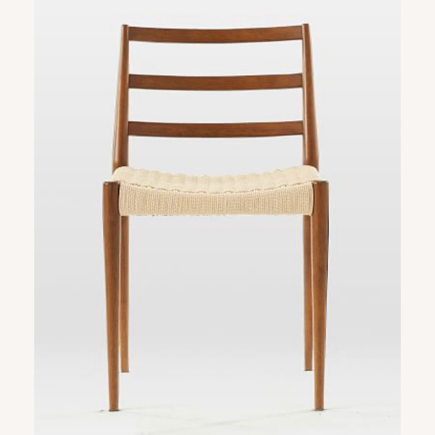 West Elm Holland Dining Chair Walnut/Natural - image-3