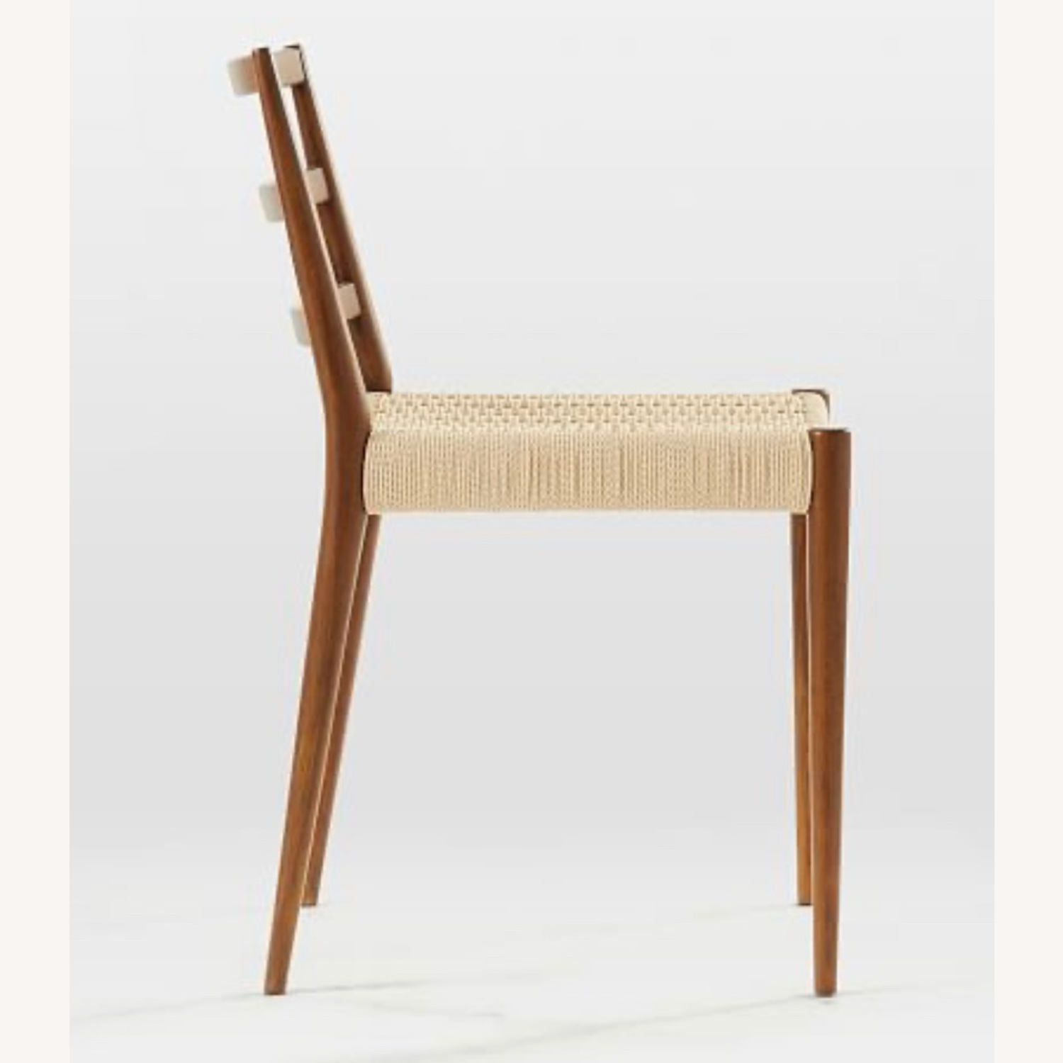 West Elm Holland Dining Chair Walnut/Natural - image-2