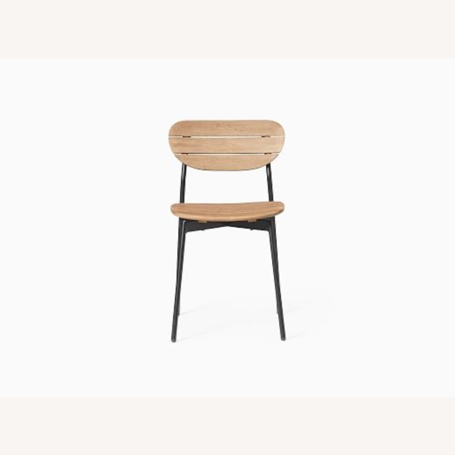 West Elm Frame Outdoor Set of 2 Dining Chairs - image-4