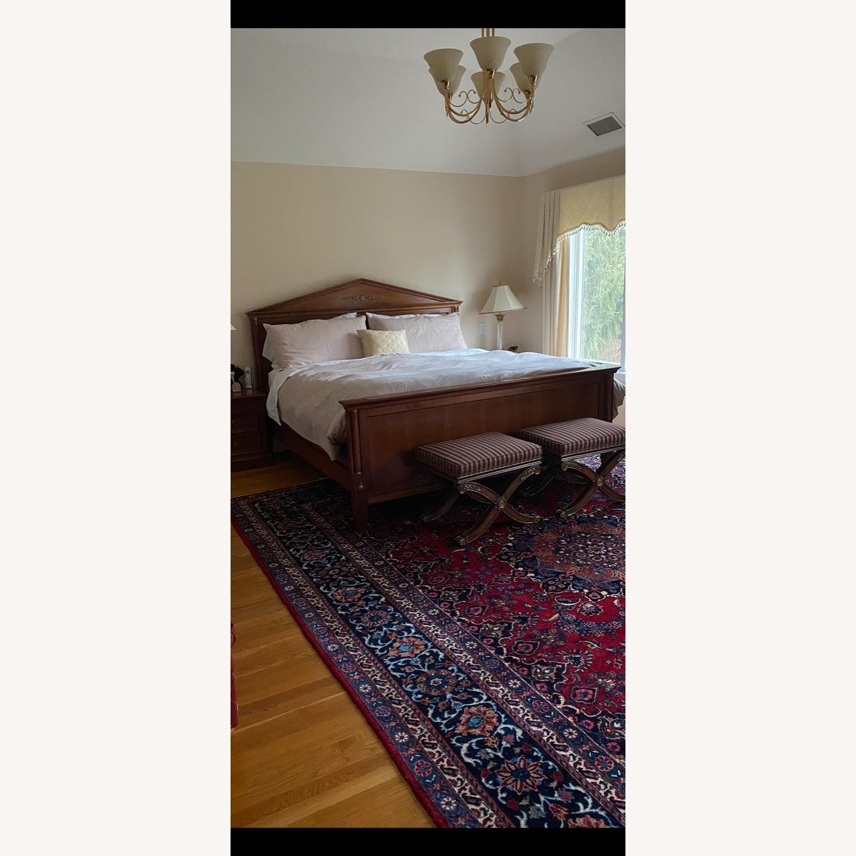 Ethan Allen King Bed Frame - image-13