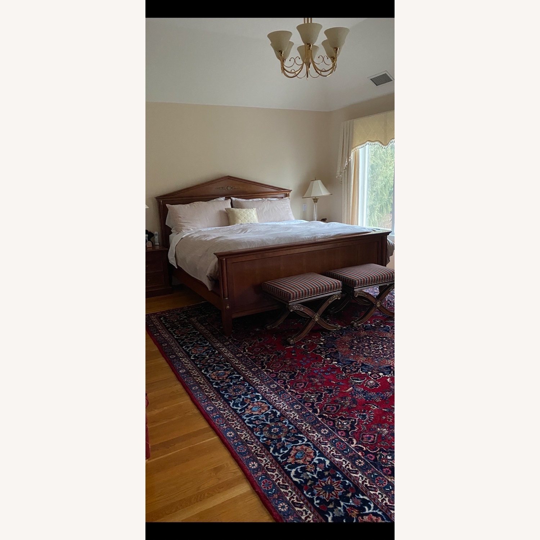 Ethan Allen King Bed Frame - image-14