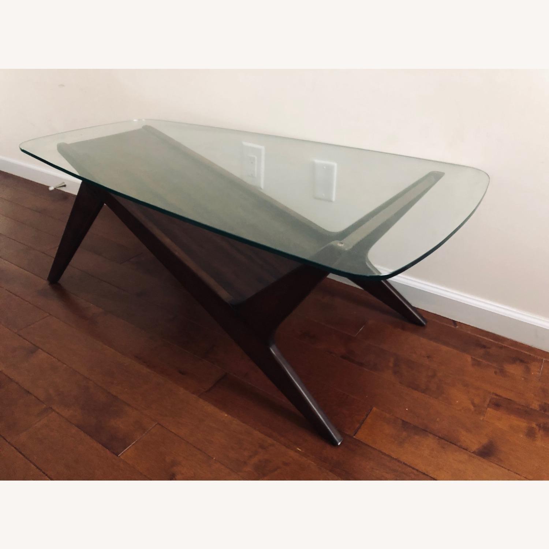 West Elm Marcio Display Coffee Table, Dark Walnut - image-8
