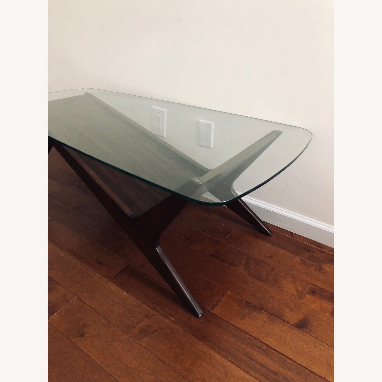 West Elm Marcio Display Coffee Table, Dark Walnut - image-2
