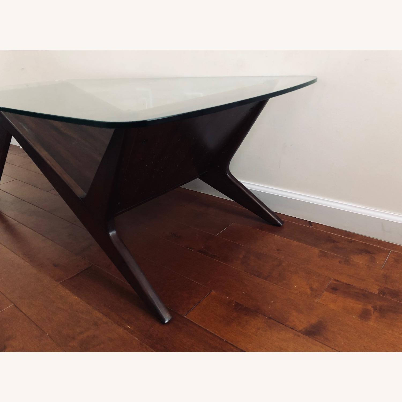 West Elm Marcio Display Coffee Table, Dark Walnut - image-3