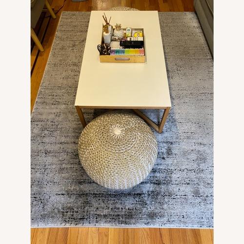 Used Surya Grey Area Rug for sale on AptDeco