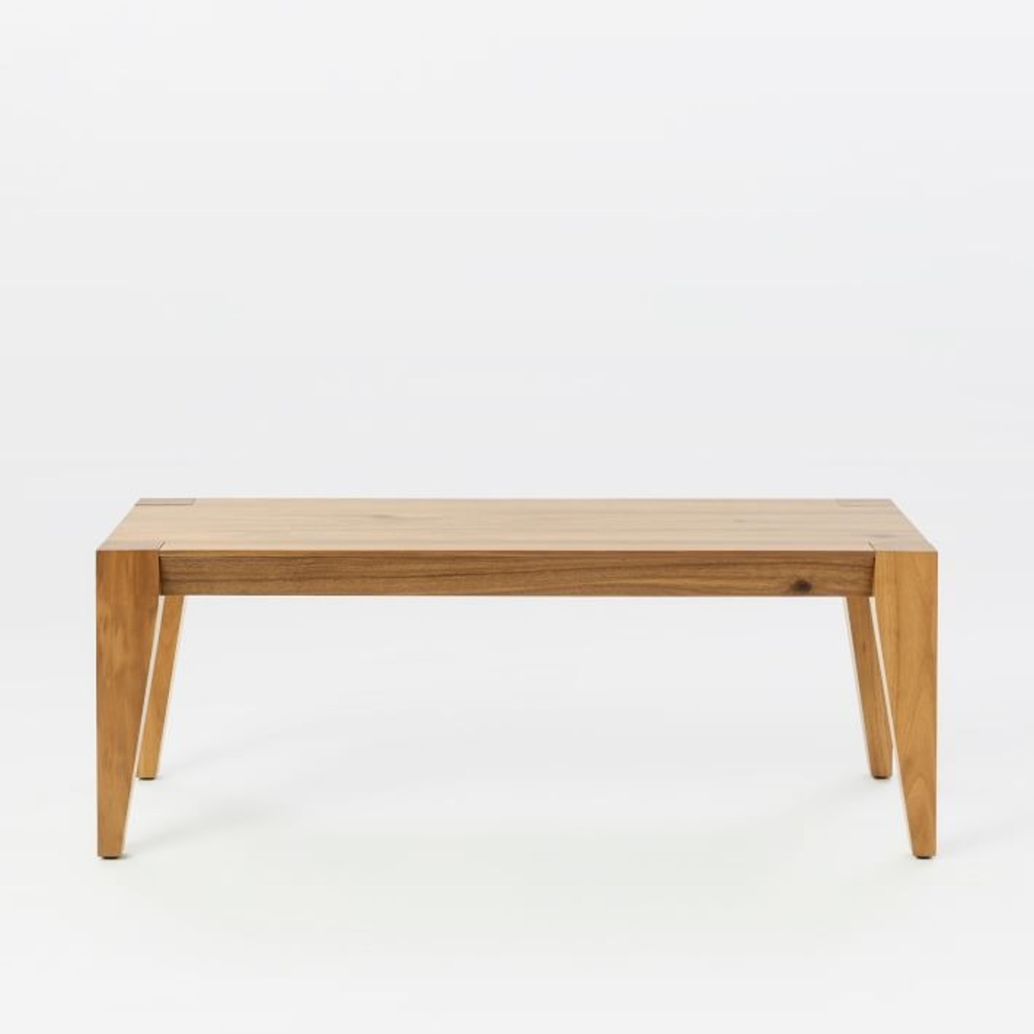 """West Elm Anderson Dining Bench 50"""" Acacia, Caramel - image-2"""
