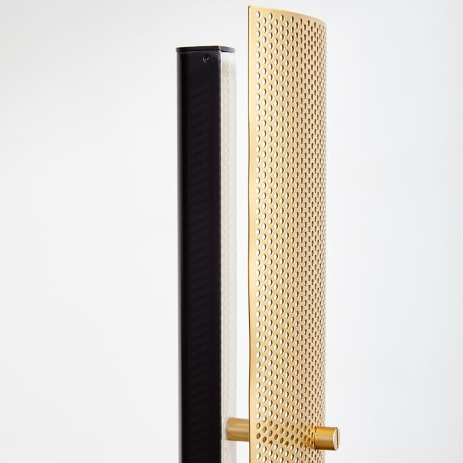 West Elm Led Perforated Floor Lamp - image-3