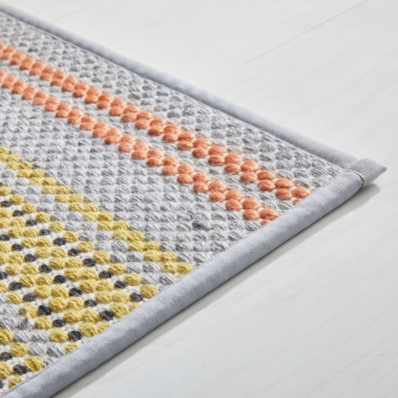 West Elm Ombre Pop Kitchen Mat, Multi, 2.5'x7' - image-1