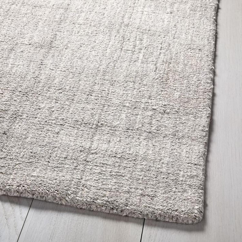 West Elm Handloomed Strie Shine Rug, 6'x9', Gray - image-2