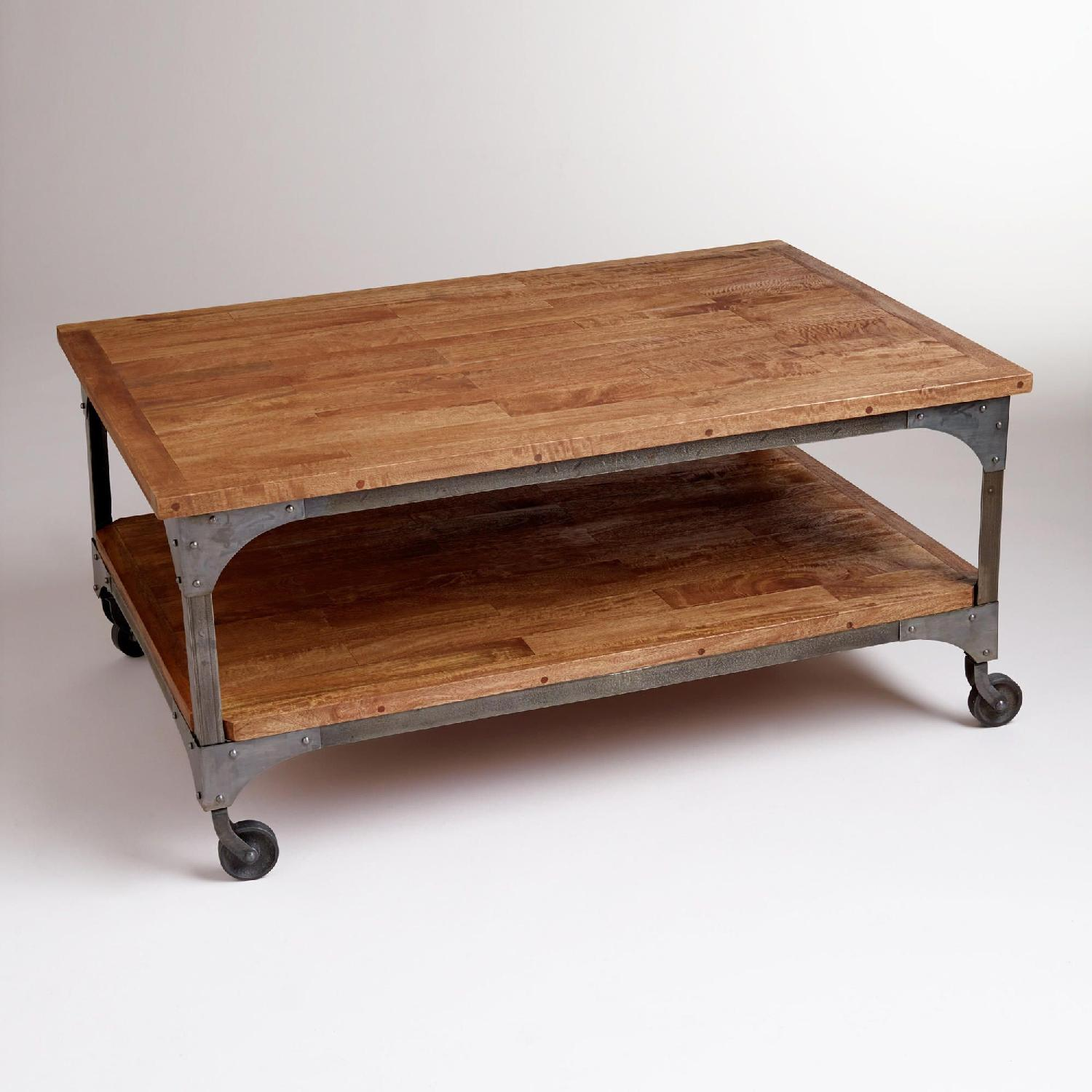 World Market Aiden Coffee Table - Industrial look - image-7