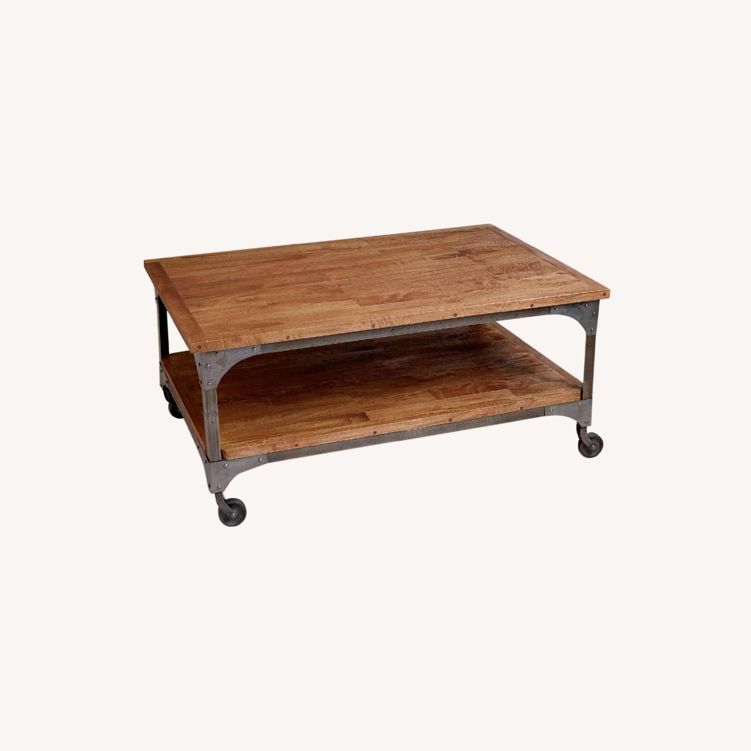 World Market Aiden Coffee Table - Industrial look - image-0