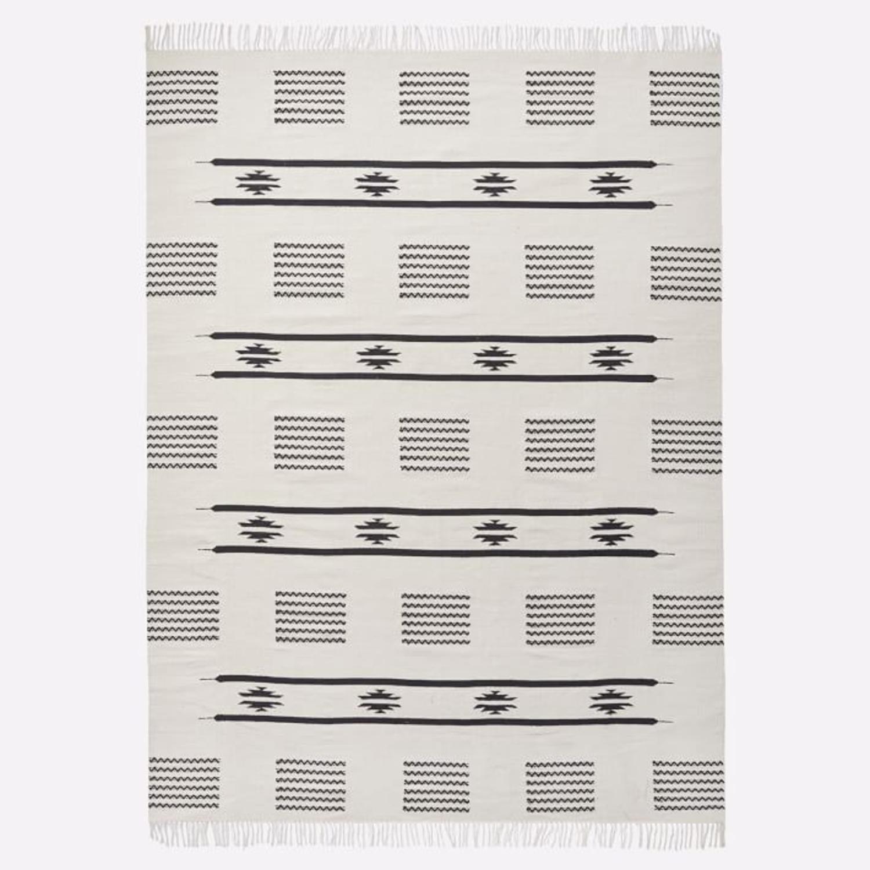 West Elm Pradera Cotton Rug, 8'x10', White - image-2