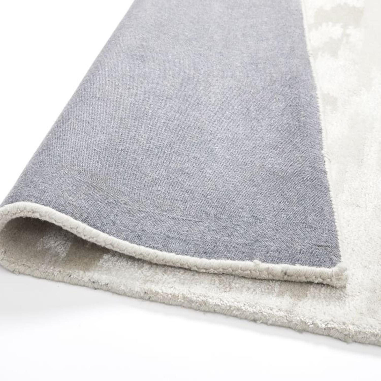 West Elm Quartz Rug, 2.5'x9', White - image-3