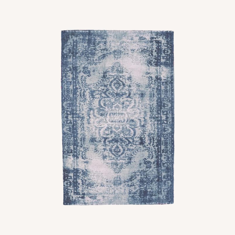 West Elm Distressed Arabesque Wool Rug, 5'x8' - image-0