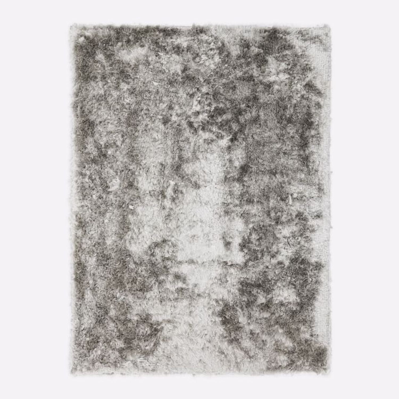 West Elm Glam Shag Rug, Platinum, 5'x8' - image-3