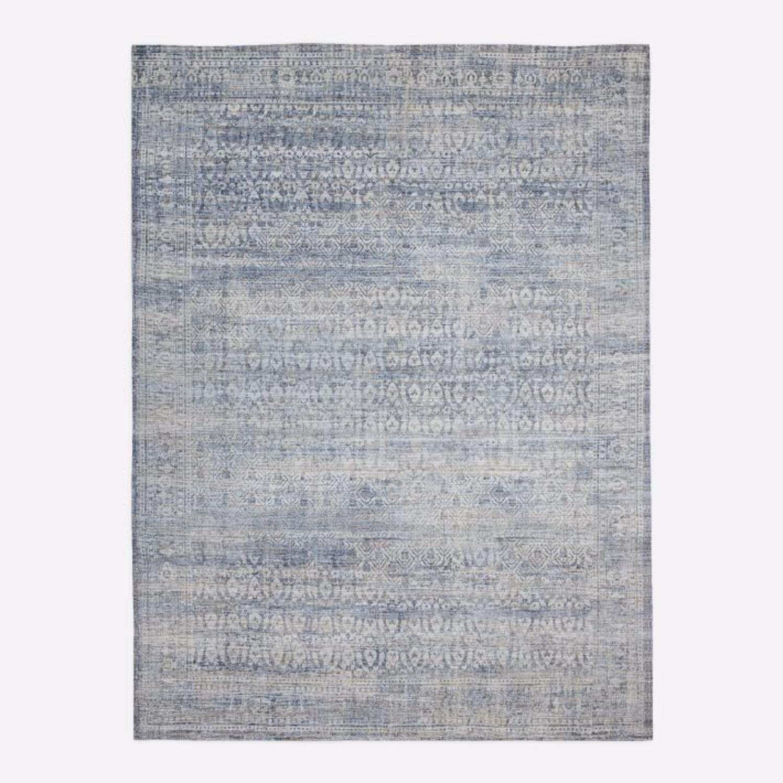 West Elm Azura Rug, 6'x9', Indigo - image-3