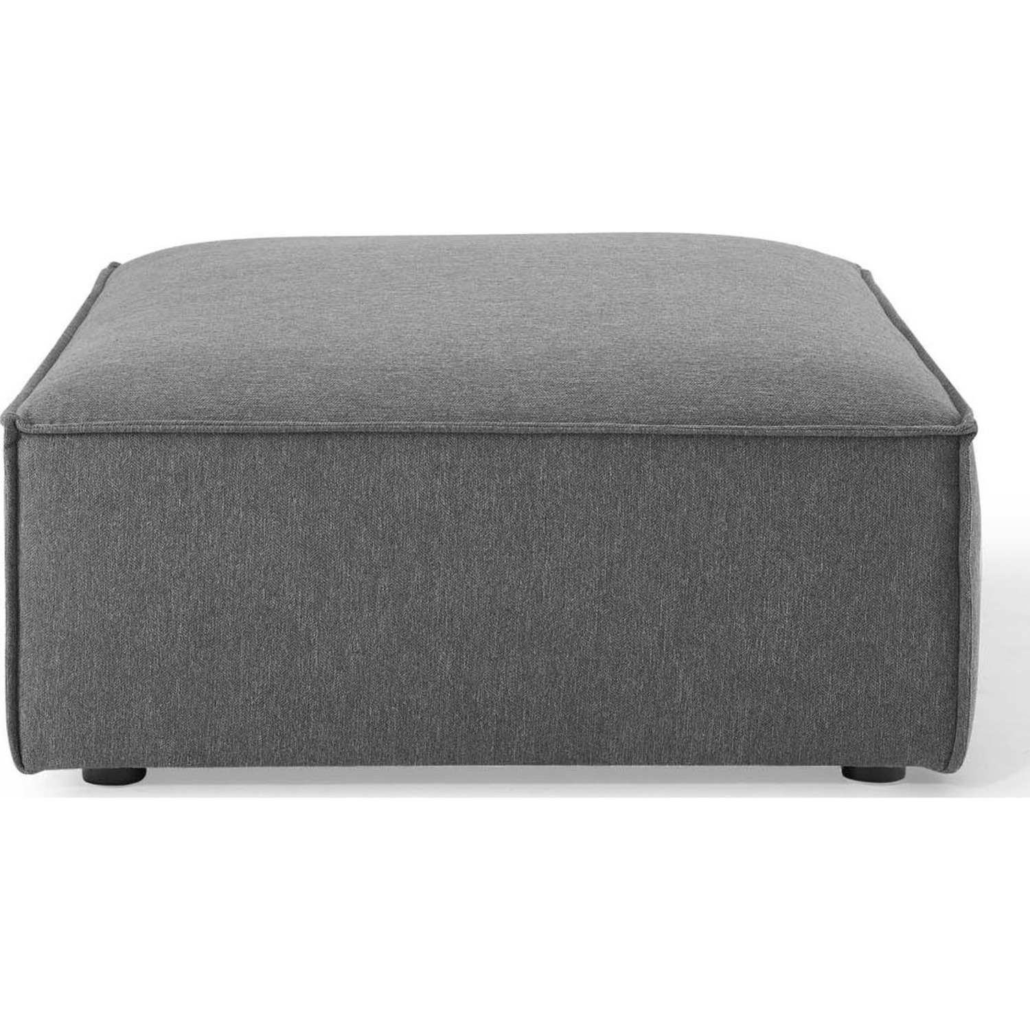 4-Piece Sectional Sofa In Charcoal Fabric - image-8