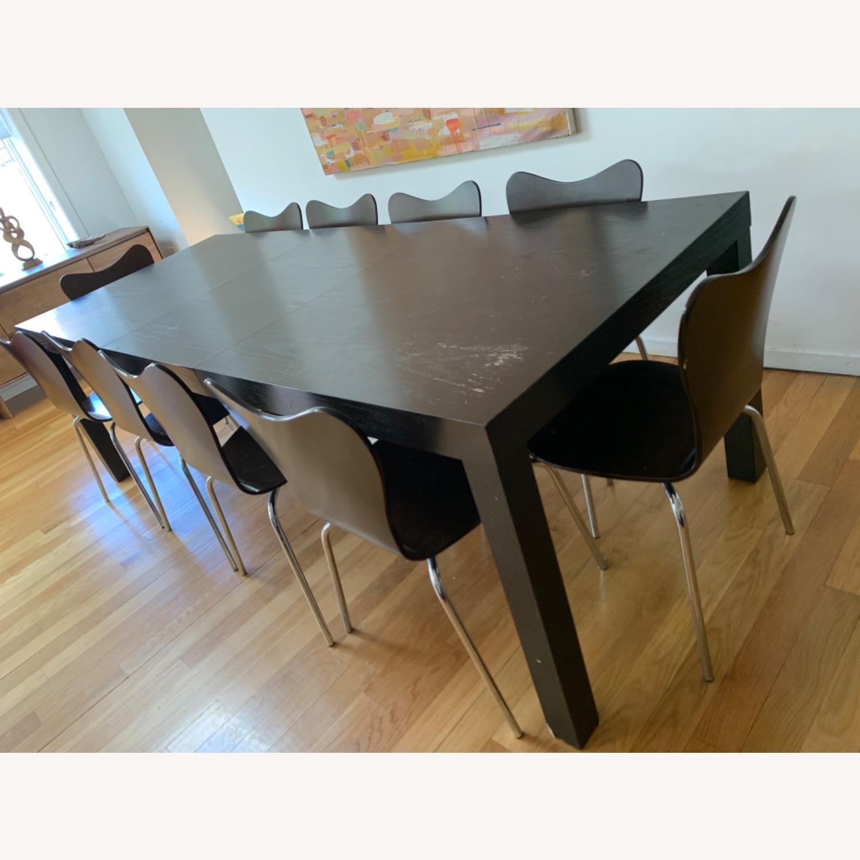 West Elm - 11 Piece Dining Set - Wood - image-3