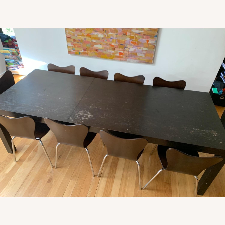 West Elm - 11 Piece Dining Set - Wood - image-2