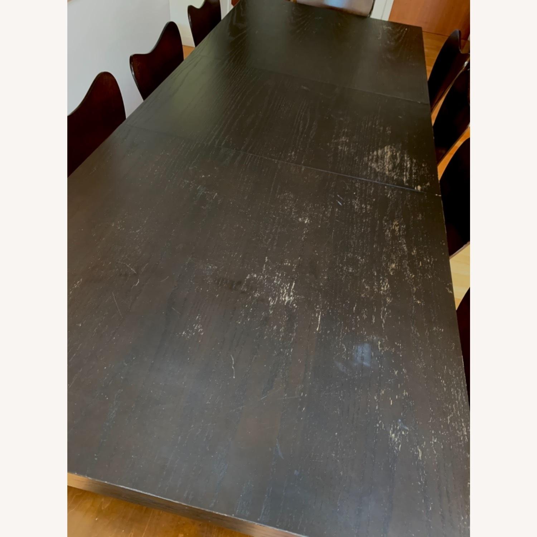 West Elm - 11 Piece Dining Set - Wood - image-9