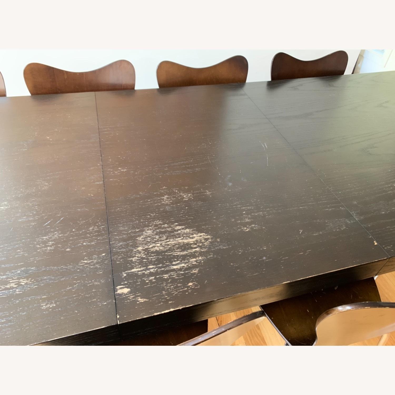 West Elm - 11 Piece Dining Set - Wood - image-8