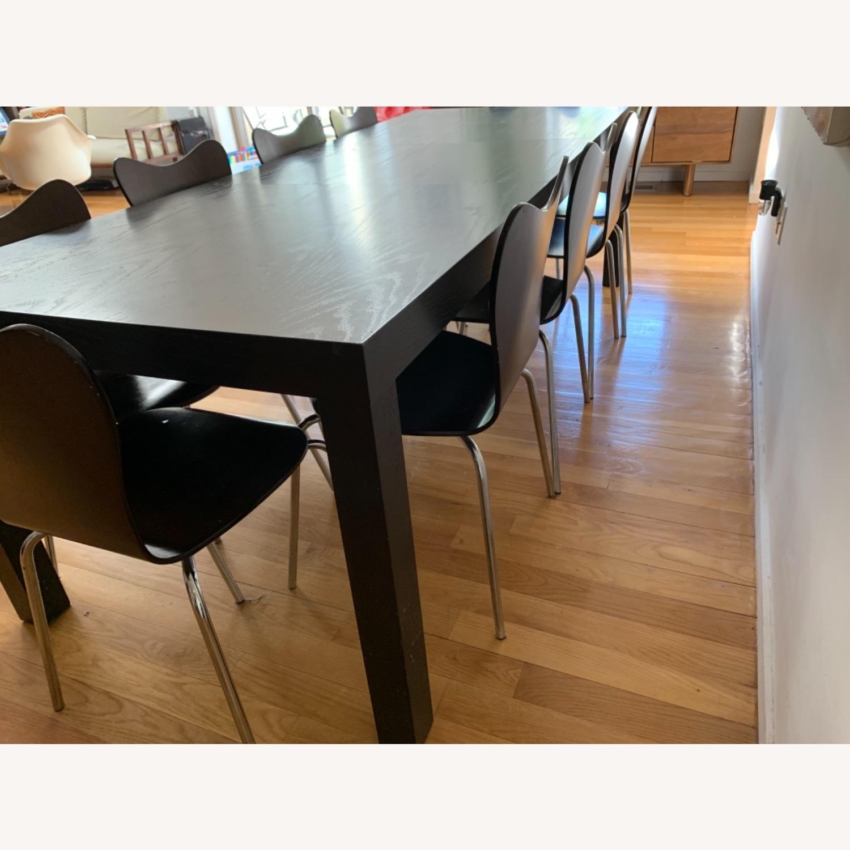 West Elm - 11 Piece Dining Set - Wood - image-5