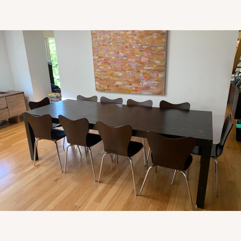West Elm - 11 Piece Dining Set - Wood - image-1