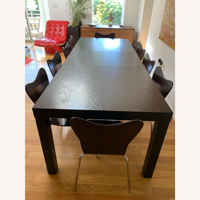 West Elm - 11 Piece Dining Set - Wood - image-6