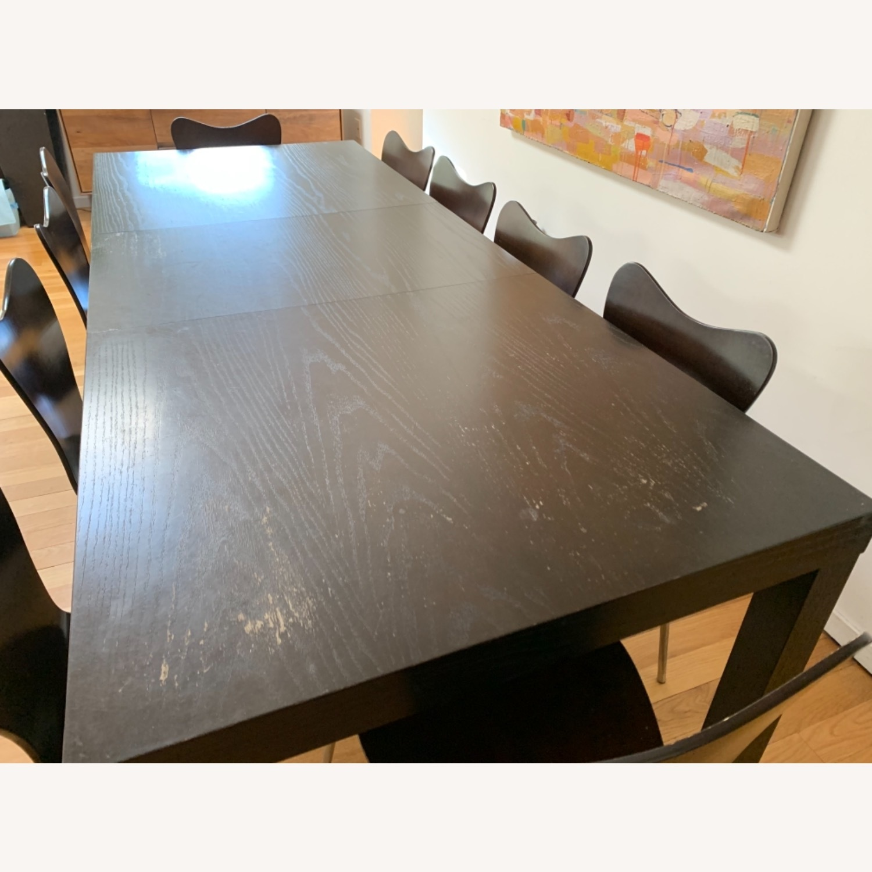 West Elm - 11 Piece Dining Set - Wood - image-7