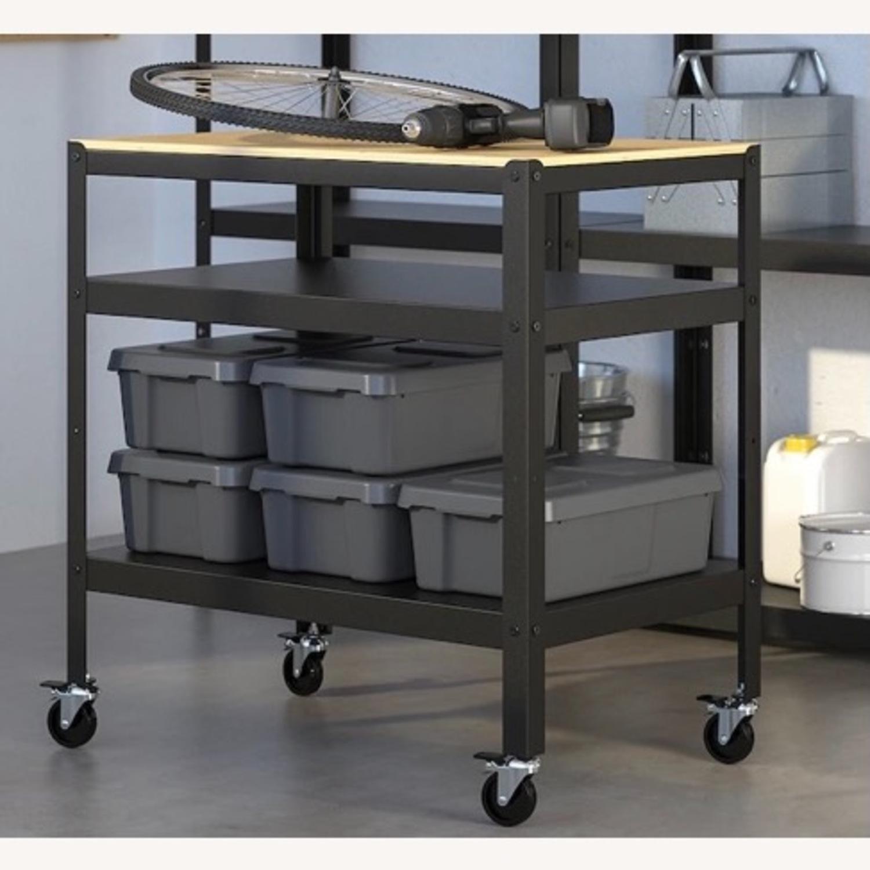 IKEA Bror Bar Cart - image-2