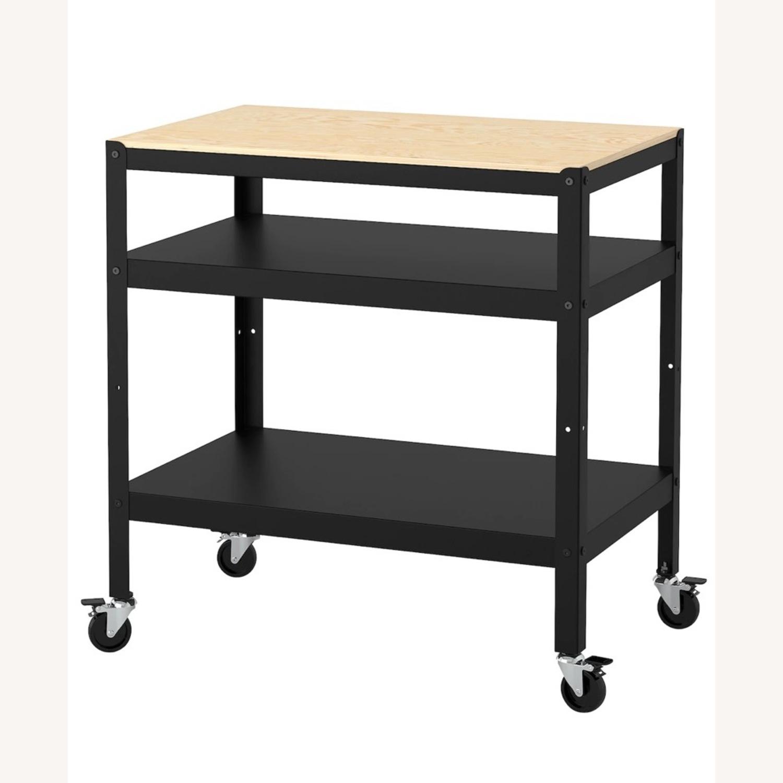 IKEA Bror Bar Cart - image-1