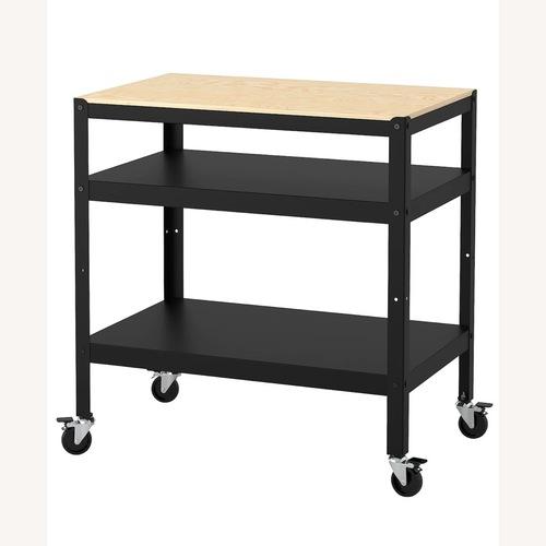 Used IKEA Bror Bar Cart for sale on AptDeco