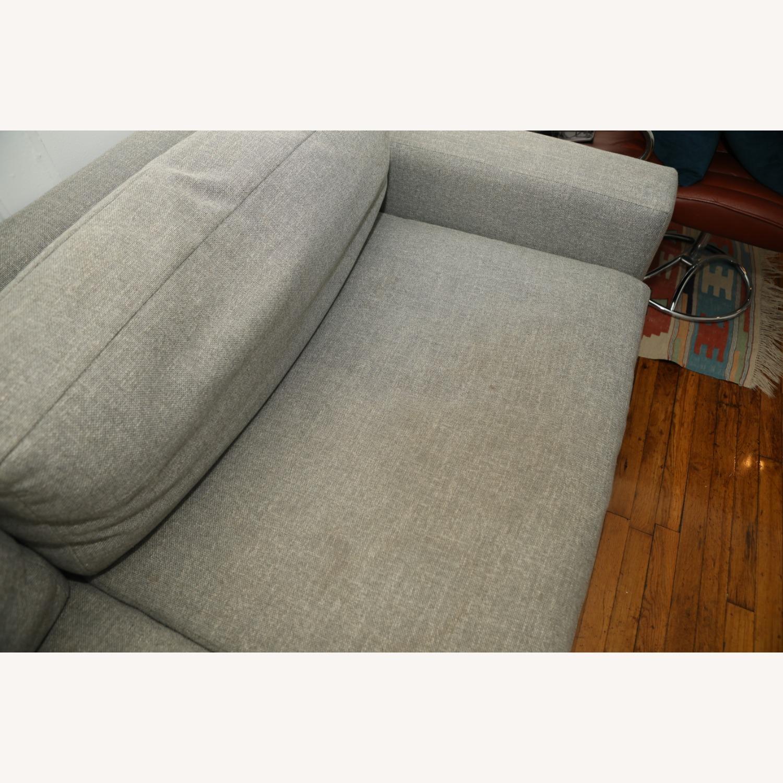 West Elm Light Gray Urban Sofa - image-4
