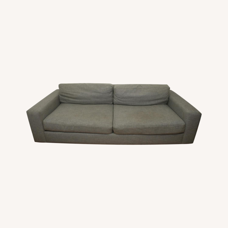 West Elm Light Gray Urban Sofa - image-0