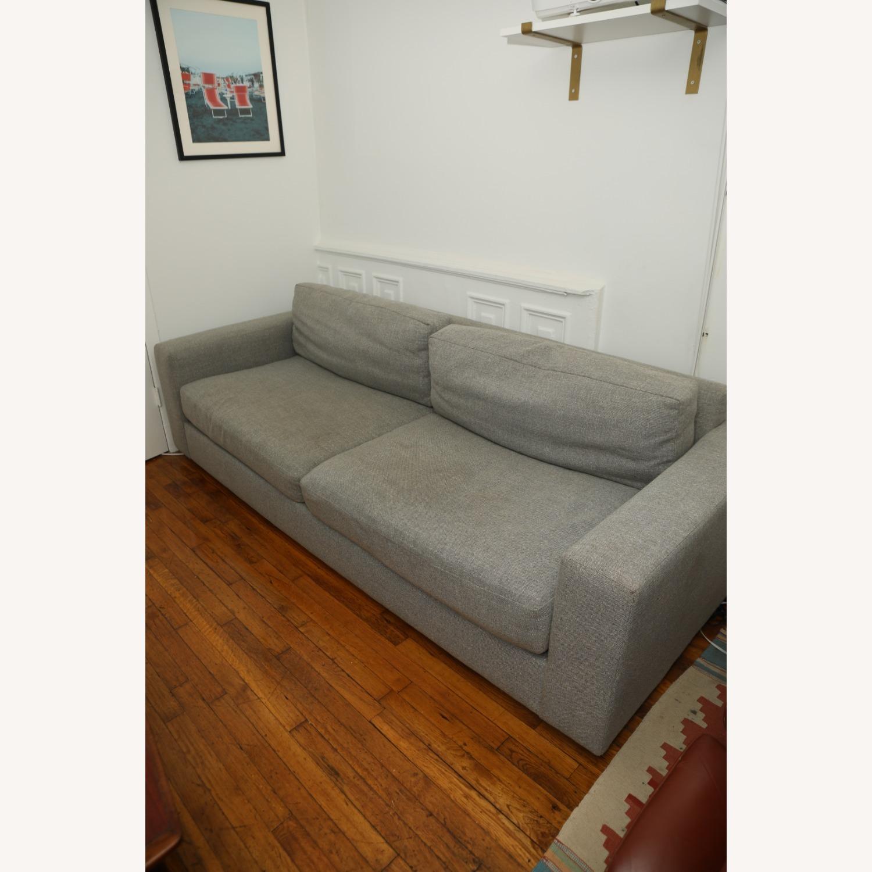 West Elm Light Gray Urban Sofa - image-5