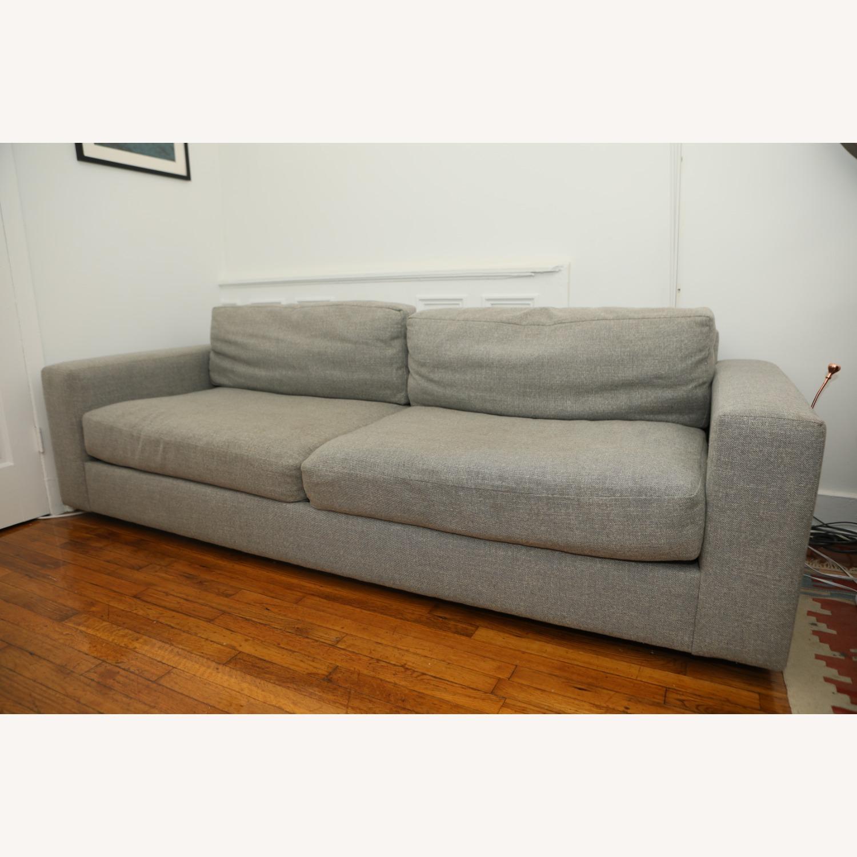 West Elm Light Gray Urban Sofa - image-2