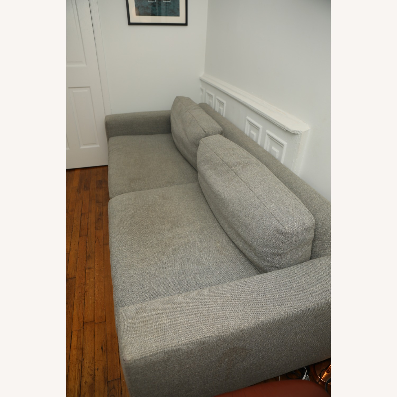 West Elm Light Gray Urban Sofa - image-3