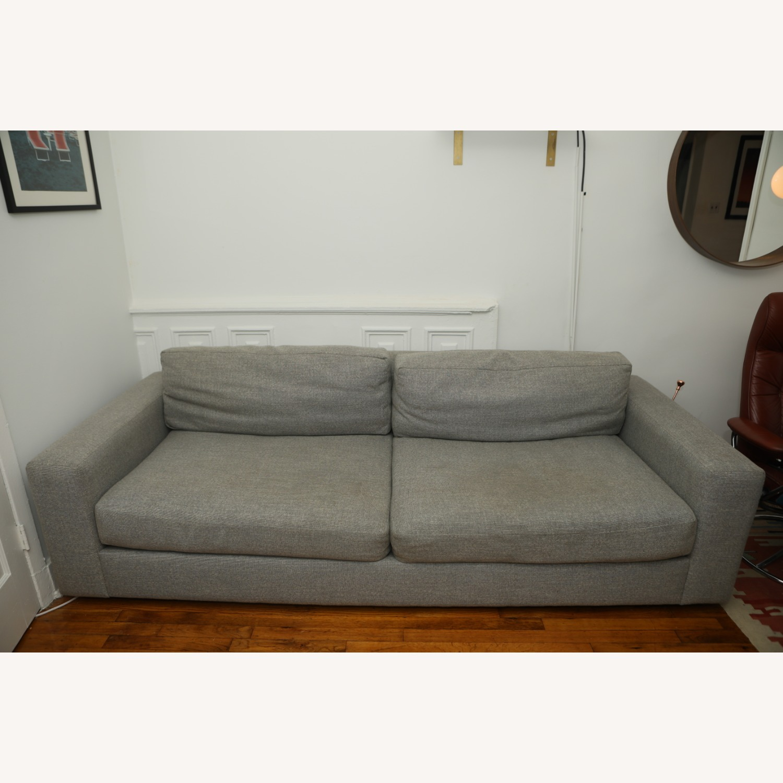 West Elm Light Gray Urban Sofa - image-1