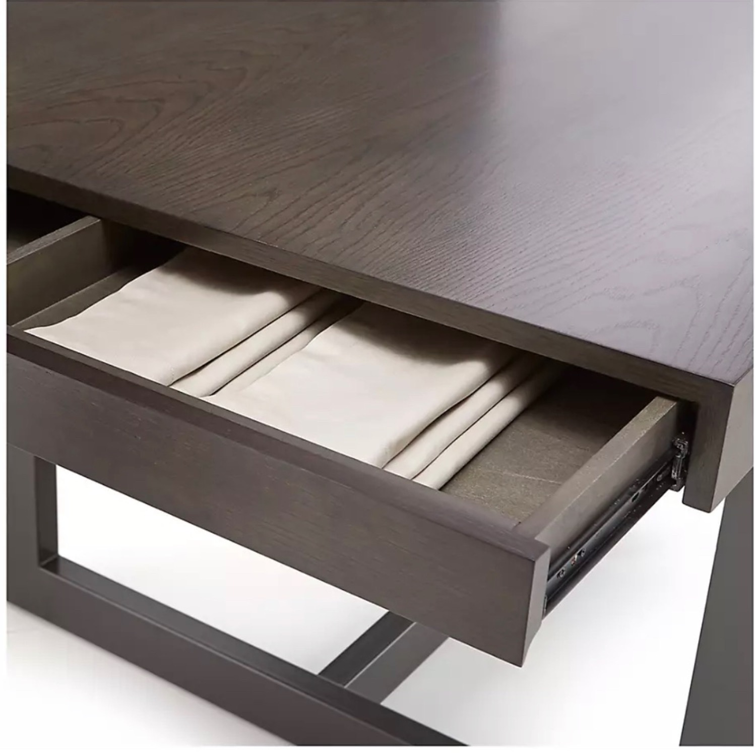 Crate & Barrel Extending Dining Table - image-2