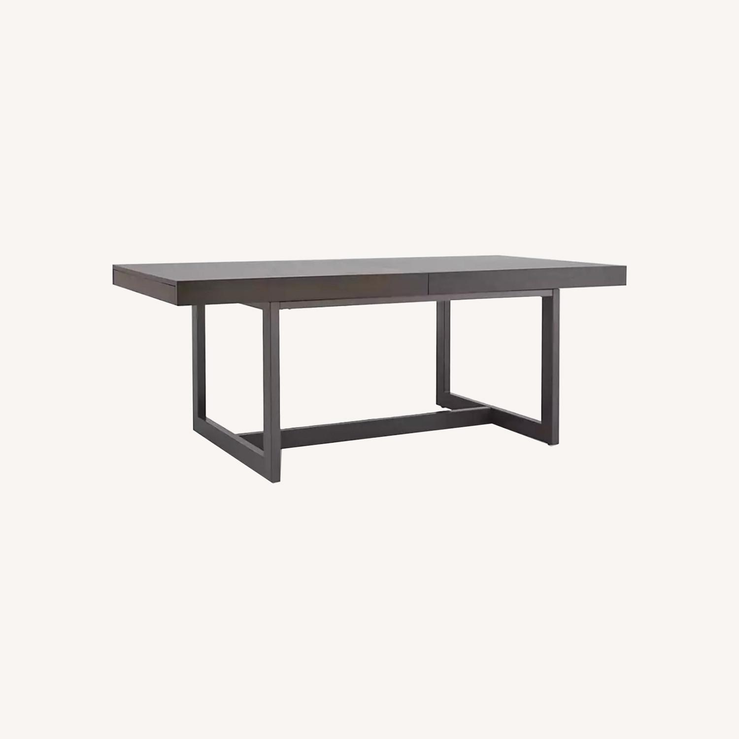 Crate & Barrel Extending Dining Table - image-5