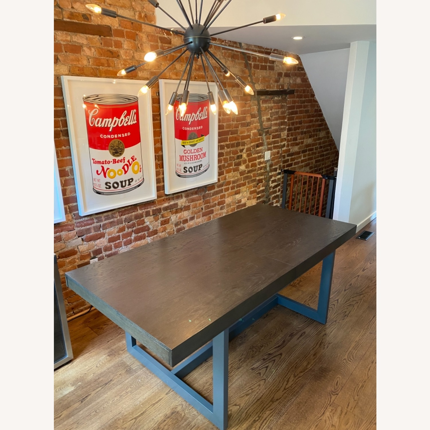 Crate & Barrel Extending Dining Table - image-6