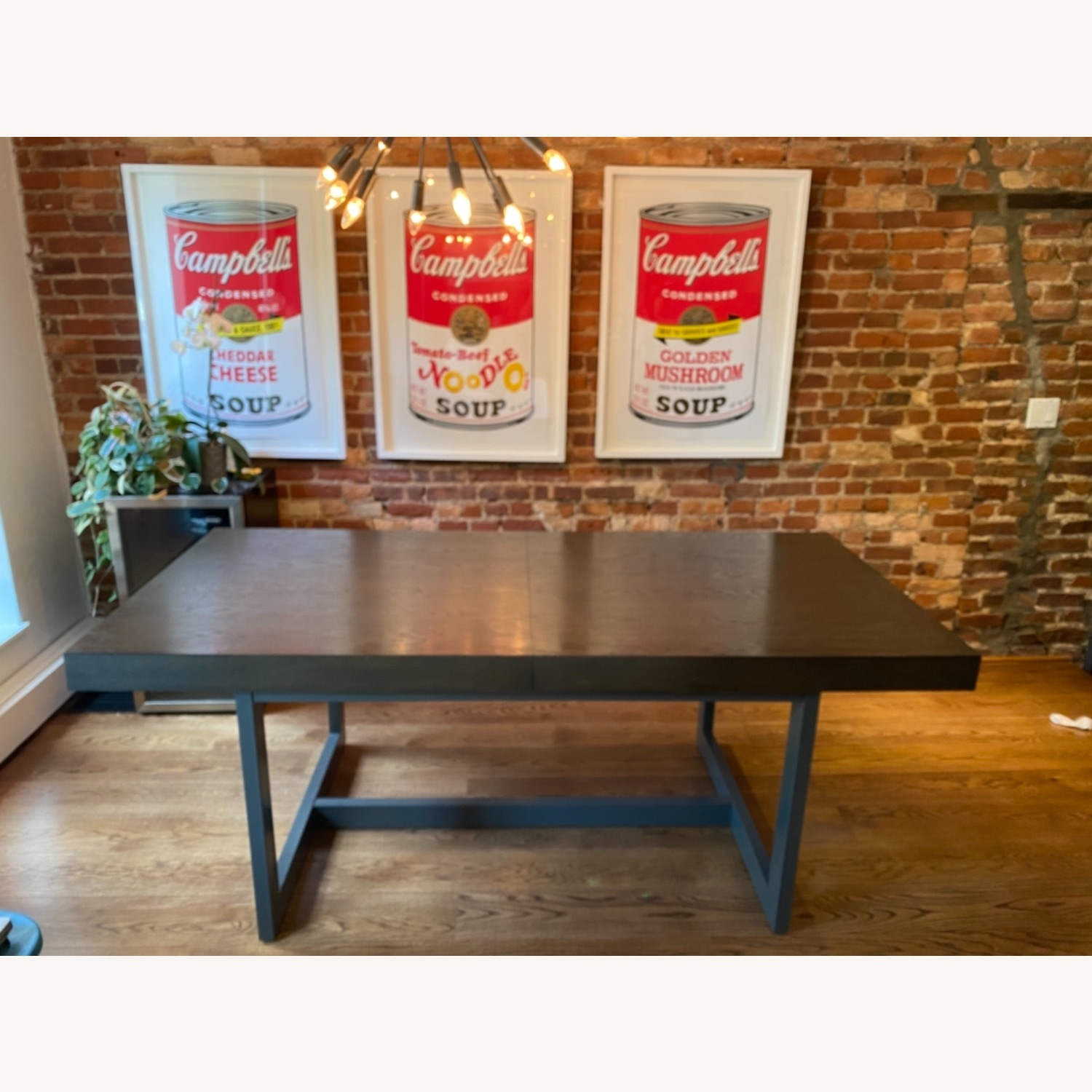 Crate & Barrel Extending Dining Table - image-0