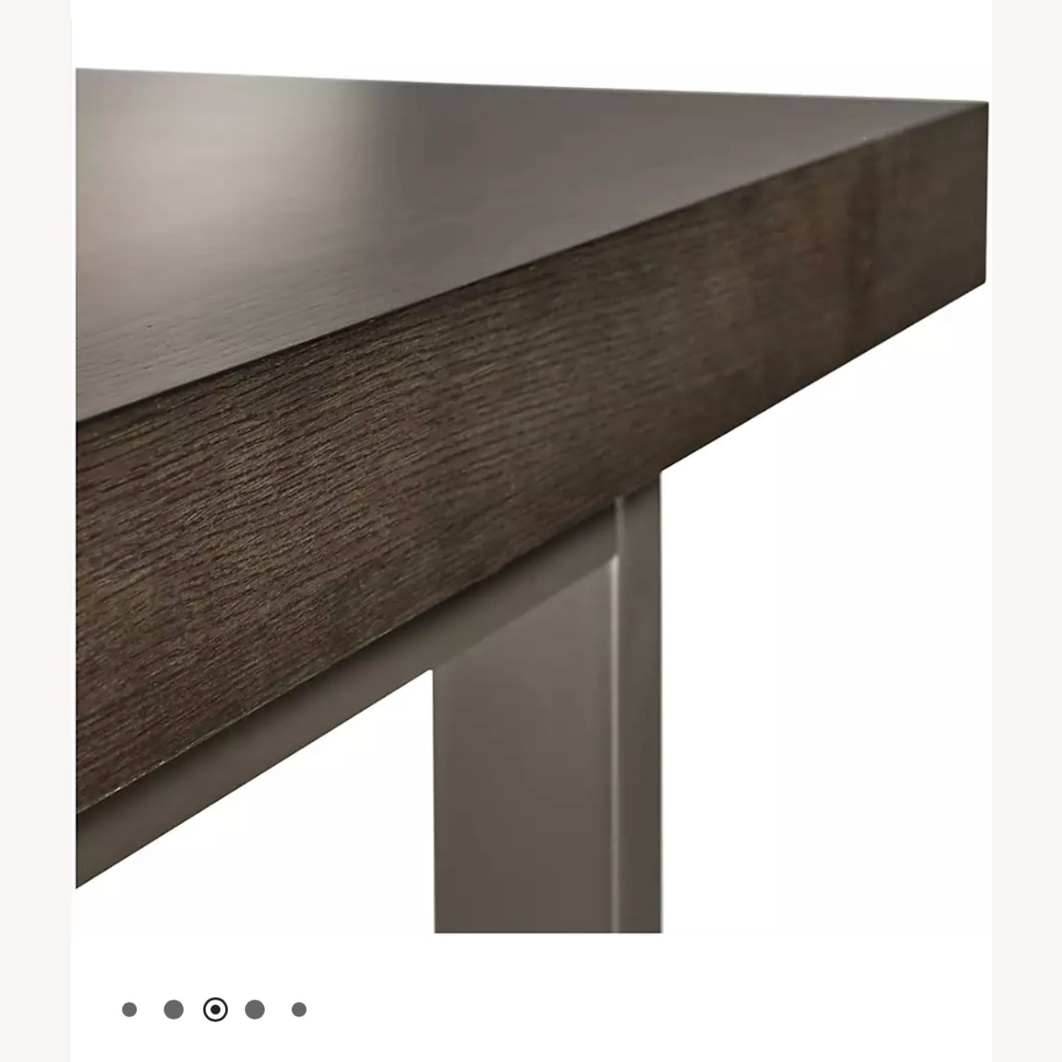 Crate & Barrel Extending Dining Table - image-3