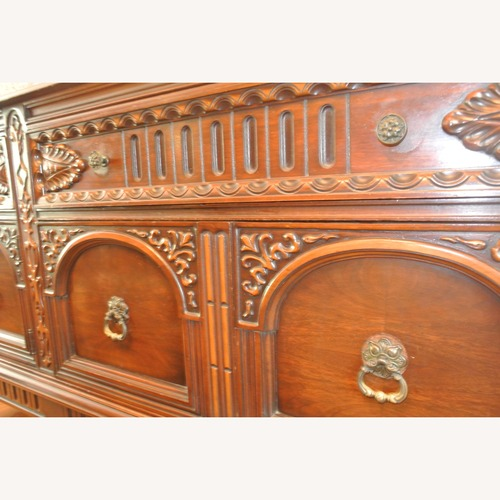Used Ornate Carved Wood Buffet for sale on AptDeco