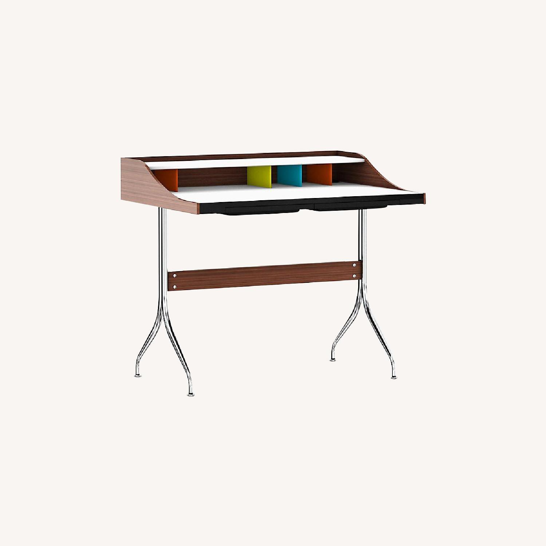 Herman Miller Nelson Swag Leg Desk Replica - image-0