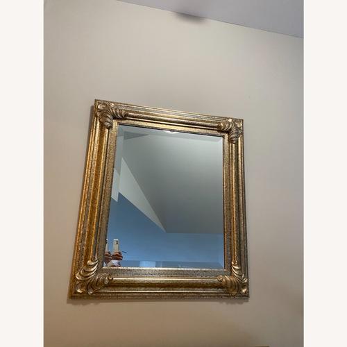 Used Gold Leaf Mirror for sale on AptDeco