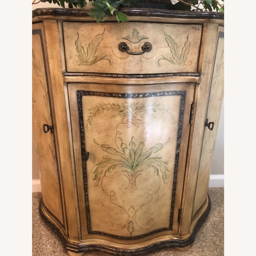 Used Hand Painted French Provincial Credenza for sale on AptDeco